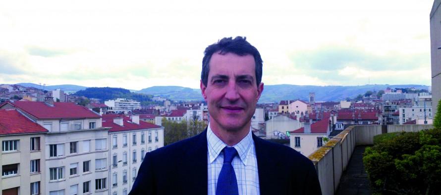 Augustin Montoussé du Lyon, directeur d'ERDF Loire