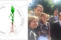 COP 21 : le timbre d'une étudiante de Saint-Etienne désigné timbre officiel
