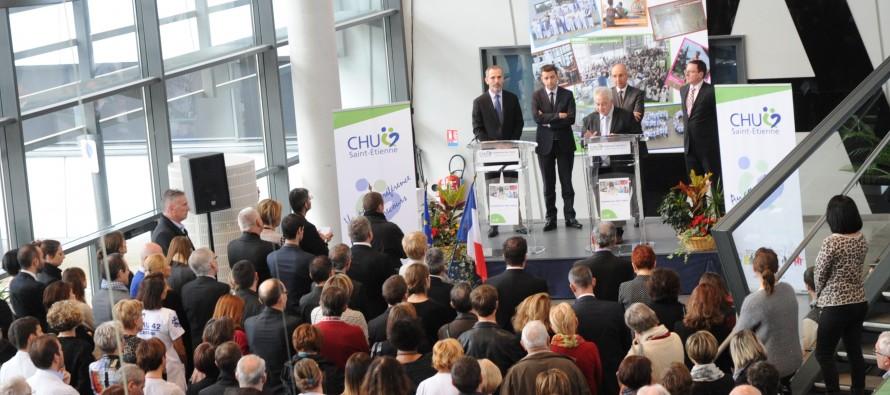 CHU de Saint-Etienne : croissance d'activité pour 2015
