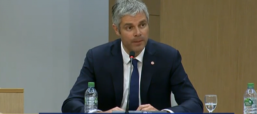 Le cocktail de Laurent Wauquiez.
