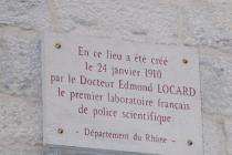 Edmond Locard, timbré à St chamond