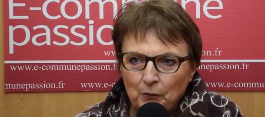Christine Bedouin maire de Lérigneux