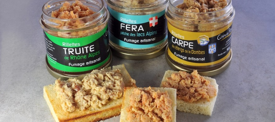 Au menu : rillettes de carpes…