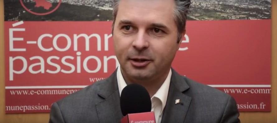Eric Berlivet maire de Roche la Molière