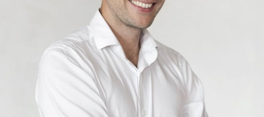 Gregory Cuilleron, cuisinier et animateur à France 5, fait étape à Saint-Etienne