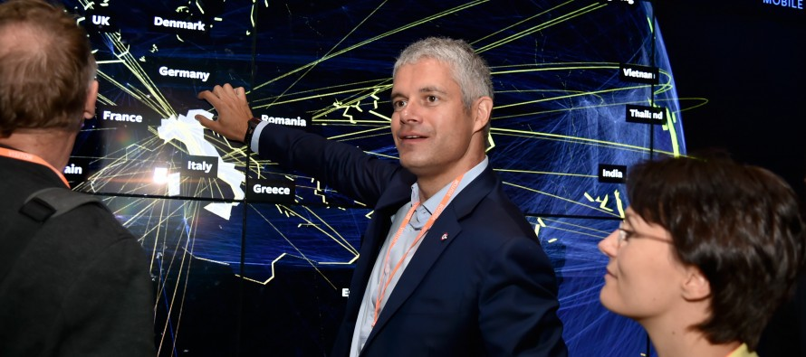 Laurent Wauquiez dans la Silicon-Valley