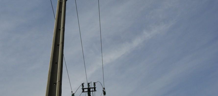 Renovation du reseau électrique dans le Montbrisonnais