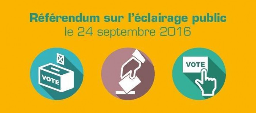 Référendum Firminy : Oui à l'extinction de l'éclairage public !
