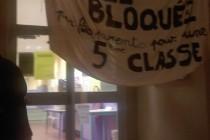 Parents et enseignants d'une école stéphanoise  rivalisent d'imagination pour réclamer une autre classe