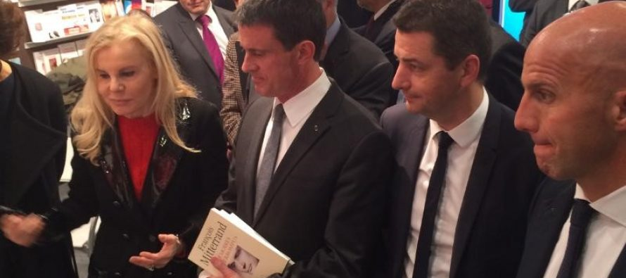 Gaël Perdriau à Francfort avec le premier ministre, Manuel Valls