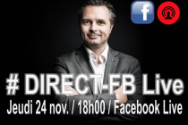 Communication : Eric Berlivet en Direct sur Facebook