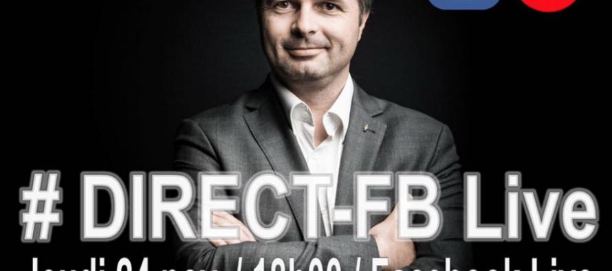 Communication : Eric Berlivet en Direct sur Facebook