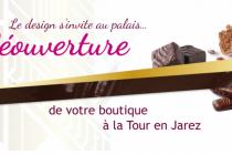 Nouvelle boutique Chocolats des Princes