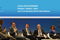 Innovation au dixième colloque Défi Autonomie
