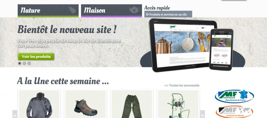 Manufrance : des objets design et des produits « made in France »