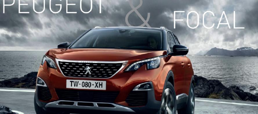 Focal passe un accord avec le constructeur automobile Peugeot