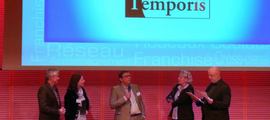Temporis lauréat du Trophée Forum Franchise 2016