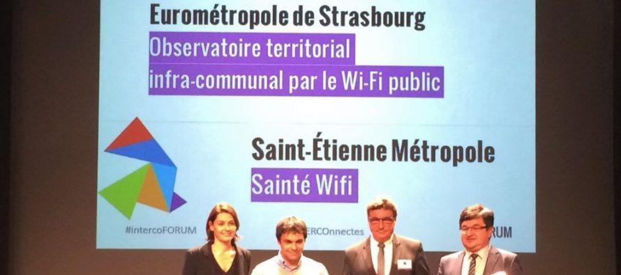 Le label d'or des territoires innovants pour St Etienne  Métropole