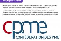Enquête sur les attentes des PME par la CPME
