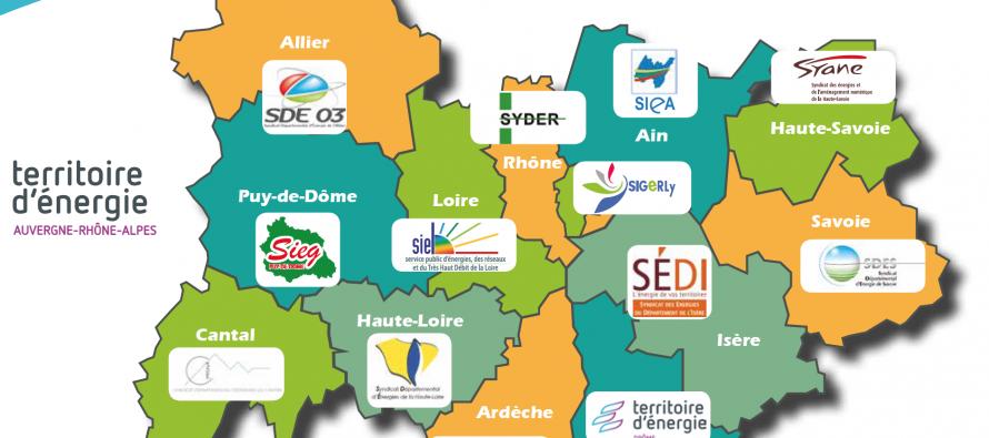 Les syndicats intercommunaux d'énergie de la région créé leur une association.
