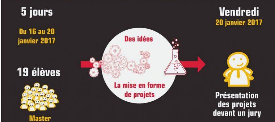 Workshop avec les élèves du Master Prospectives Design du 16 au 20 janvier 2017