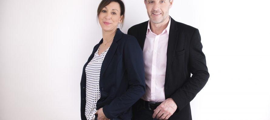 Nicolas Poirieux  et Marianne Gianelli font équipe pour les législatives