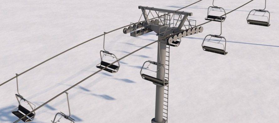 Le SIEL réchauffe les pylônes de la station de Chalmazel