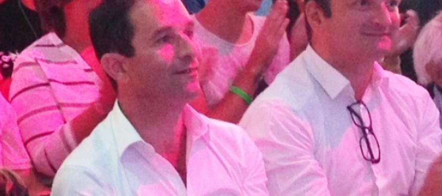 """Le seul """"présidentiable"""" présent dans la Loire est… B HAMON"""