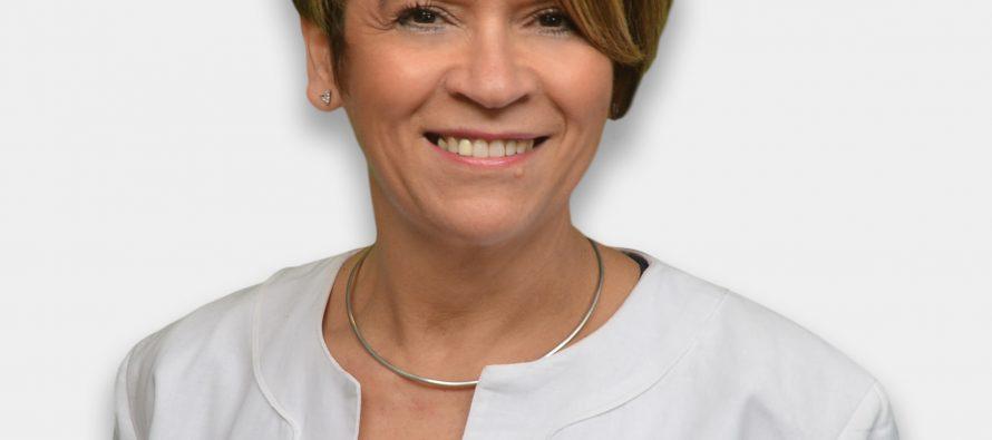 Alexandra Ribeiro Custodio et le député Européen