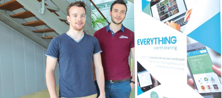Everything obtient la 1° Bourse Franch Tech du territoire