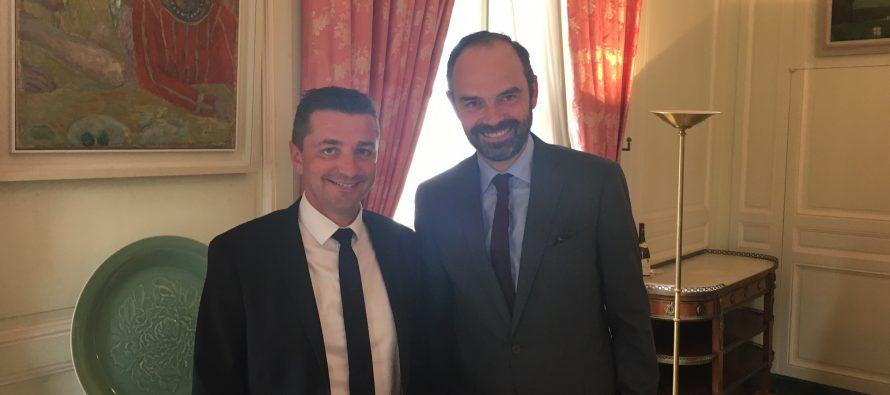 Edouard Philippe et Gaël Perdriau