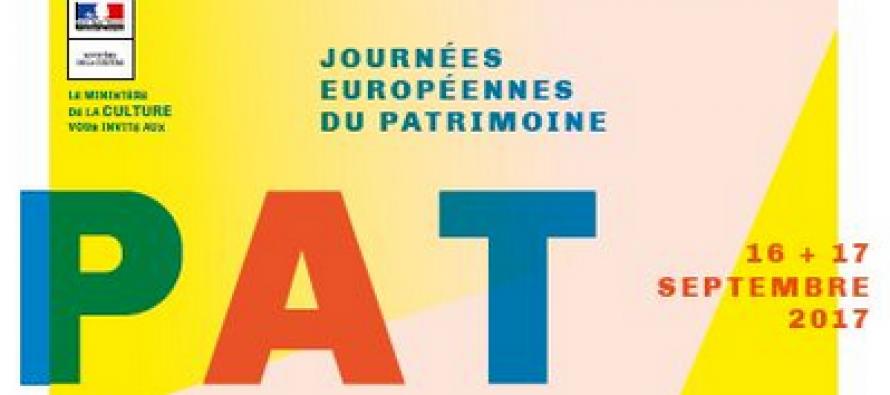 34èmes Journées européennes du patrimoine
