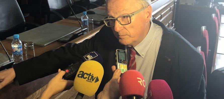 Georges Ziegler, président du Département