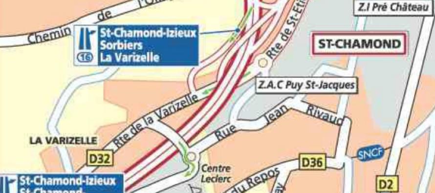 Une halle des sports à Saint-Chamond