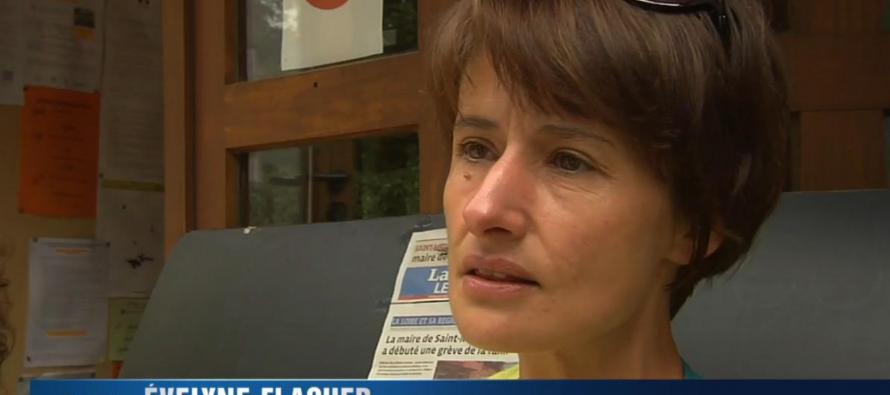 Evelyne Flacher maire de St-Medard en forez démissionne
