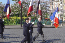 Parcours de mémoire organisé par l'office national des anciens combattants de la Loire