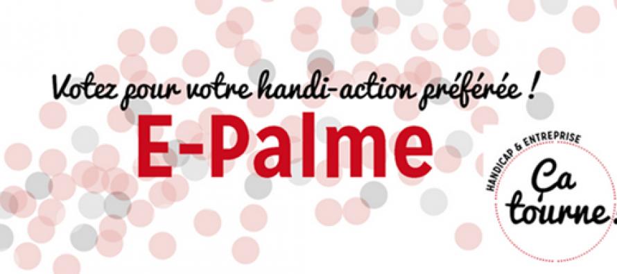 Soutien de l'emploi des personnes en situation de handicap dans l'entreprise : le vote pour la E-Palme est lancé!