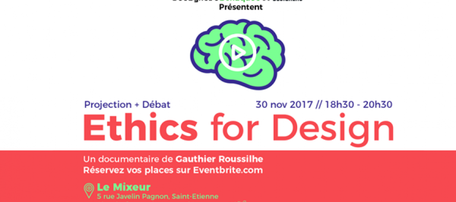 Jeudi 30 novembre : Ethics for design  Projection d'un documentaire de Gauthier Roussilhe suivie d'un débat.