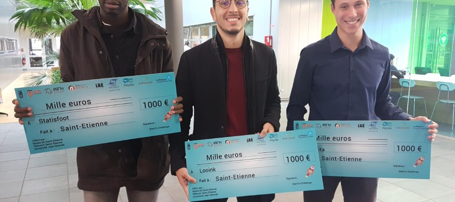 3 START-UP PRIMÉES AU CONCOURS START'IN CHALLENGE