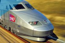 TGV Paris-Saint-Etienne.