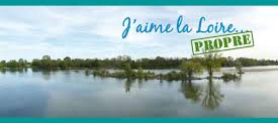 Opération «j'aime la Loire propre»