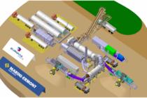 MARINI ERMONT  participe à la route 100 % recyclée