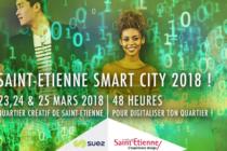 23 au 25 mars: Hackathon Saint-Etienne Smart City 2018