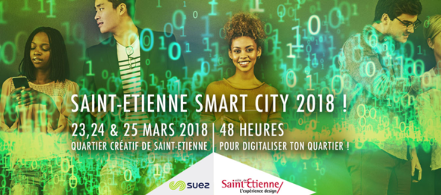 23 au 25 mars : Hackathon Saint-Etienne Smart City 2018