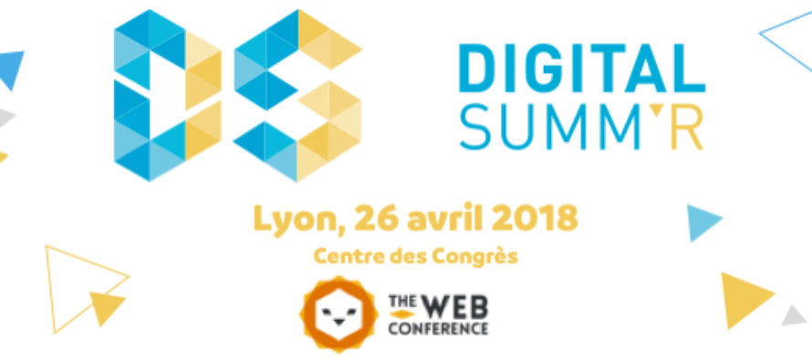 26 avril : Digital Summ'R 2018, à Lyon