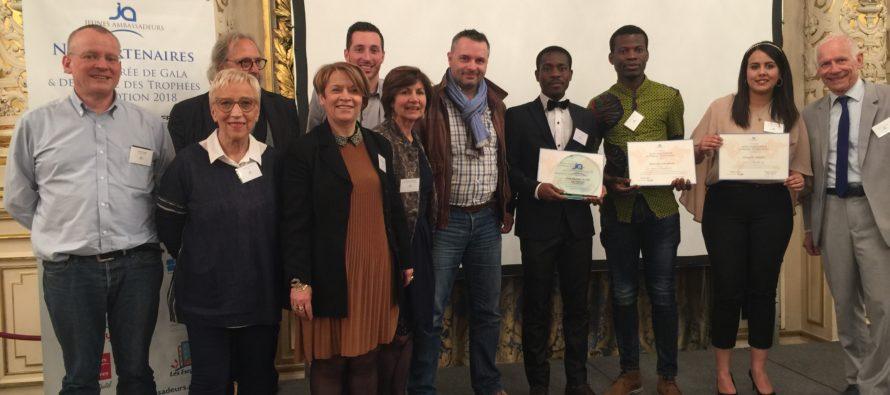 Trophées des Jeunes ambassadeurs 2018.