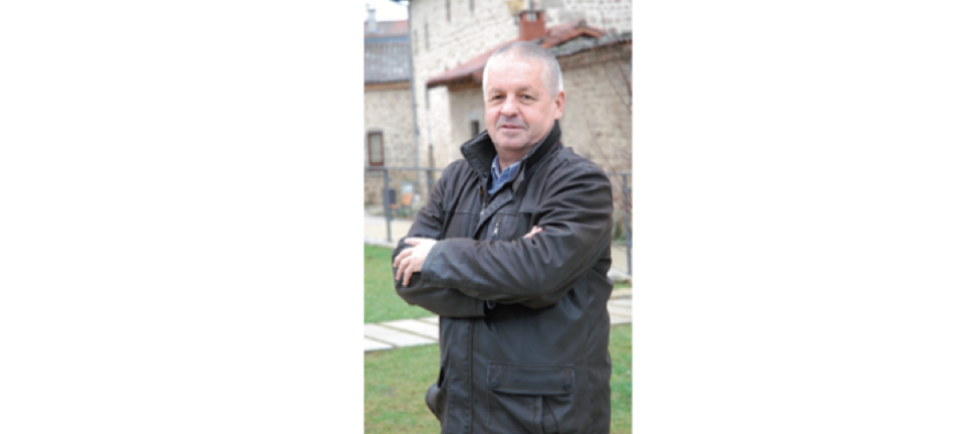 Rencontre avec Hervé Beal, maire de Usson-en-Forez