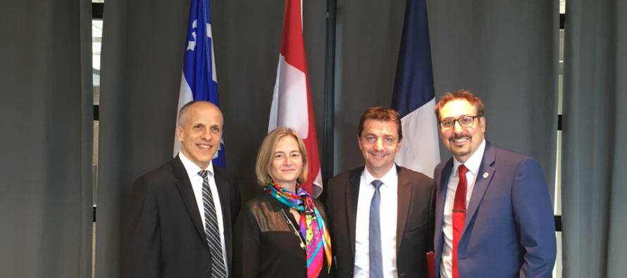 Vers plus de coopération avec le Québec