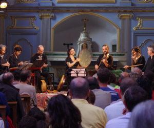 La formation musicale Canticum Novum à La Chartreuse de Sainte-Croix-en-Jarez