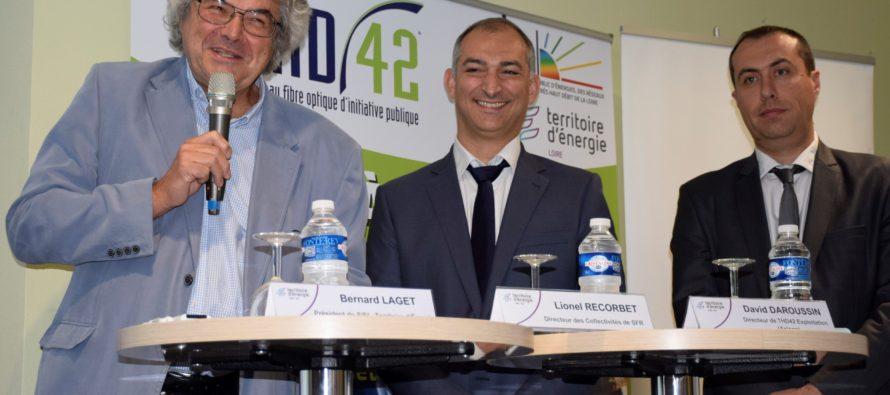 La fibre accélère dans la Loire avec l'arrivée de SFR